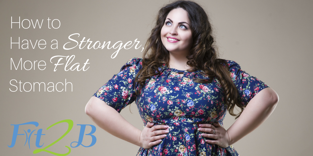 """How to Have a STRONGER, More FLAT Stomach! - Fit2B.com - Fit2B knows pregnant moms are searching for, """"What exercises are safe while I'm pregnant?"""" while postpartum busy moms are wondering, """"Why do I still look pregnant?"""" Either way, you need to know, """"What exercises can I do get a stronger, flatter stomach and strengthen my core?"""" Let Fit2B keep you safe from or help you recover from diastasis recti and other core trauma issues. #diastasisrecti #fit2b #homeworkouts #exercise #fitness"""