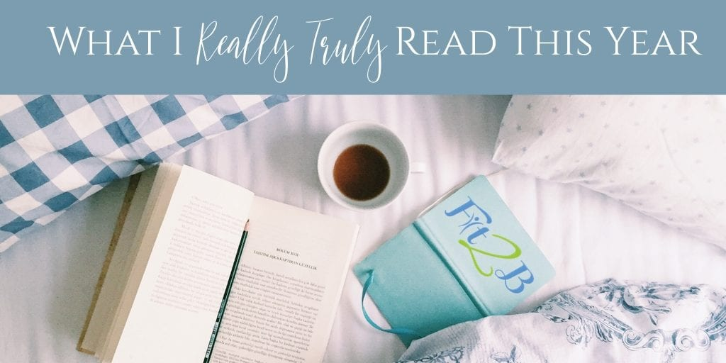 What I {Really, Truly} Read in 2018 + Plans for 2019 - Fit2B.com - Beth from Fit2B had no idea that her reading list blog as a fitness expert would become an annual treat with her clients. But since the majority of her clients are busy moms recovering from diastasis recti while juggling all the things, sharing amazing books she found entertaining and educational has been a huge hit. Click through to learn more here. #fit2b #diastasisrecti #core