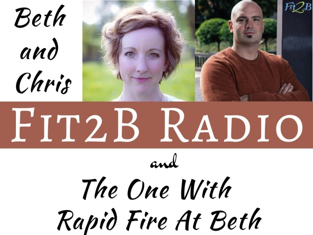 EP 14 - The One with Rapid Fire at Beth - Fit2B.com - Always wanted to know more about the founder and face of Fit2B? In this rapid fire podcast, listen in and hear about everything from her personal workout style to favorite diapers. - #fitnessjourney #fintessmotivation #getfit #podcast #fitmomlife #bodypositive #fitmom #thefitlife #sweateveryday #strongnotskinny #homefitness #abworkout #homeworkouts_4u #healthylife #healthylifestyle #fitnessroutine #coreworkouts #core #diastasisrecti #diastasis