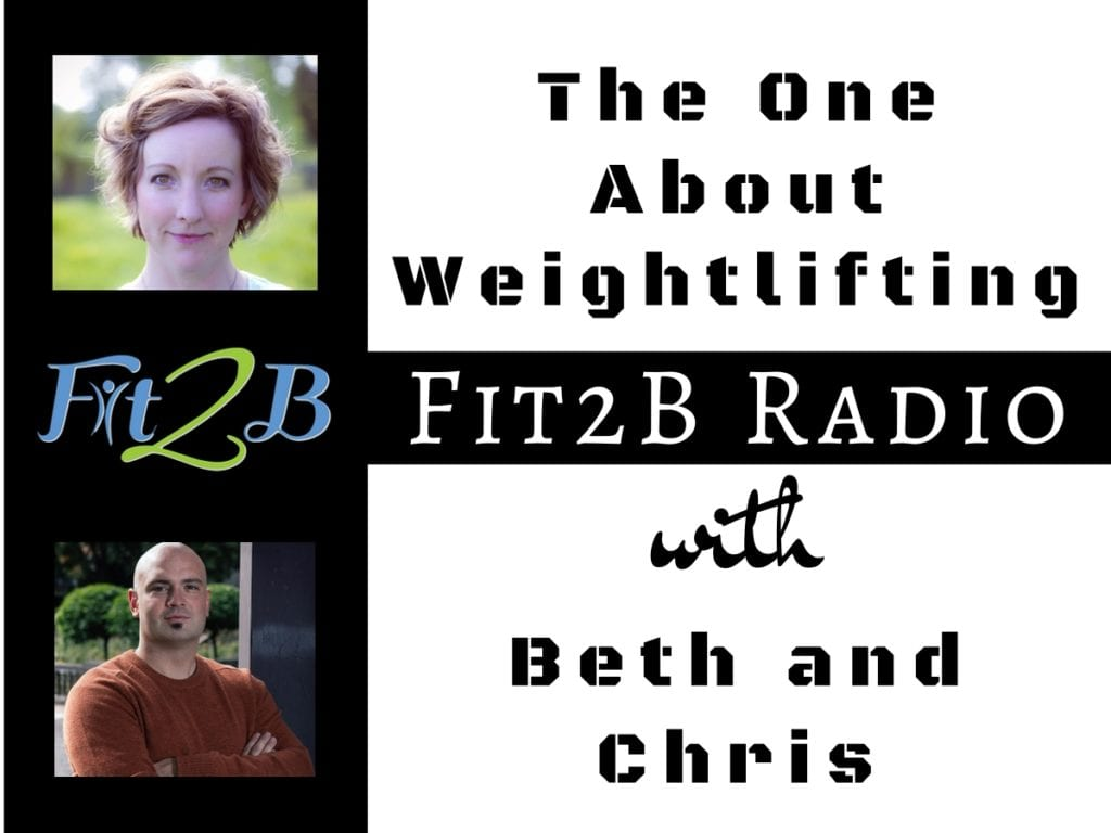 "EP 47 -The One About Weightlifting - Fit2B.com - Fit2B knows women are looking to workout at home or heading to the gym and wondering, ""What are the health benefits of weightlifting? Can kettlebell exercises also be a great ab workout? Are there diastasis recti exercises I can do safely while lifting weights? Listen in as our core workout expert, Beth Learn, talks to Chris about weightlifting for women and how you can keep your tummy safe! #fit2b #diastasisrectiexercises #weightlifting #kettlebellworkouts #abworkouts"