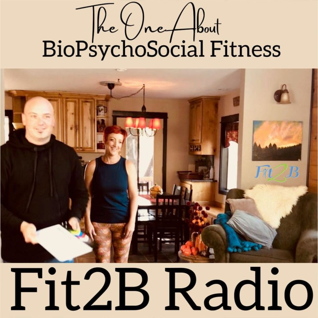 Season 2:1 The One About BioPsychoSocial Fitness - Fit2B.com - The biopsychosocial fitness suggests that exercise, mental health, spiritual journey, and sociological perspective all work together. Listen in as we discuss health inspiration for a healthy lifestyle in our podcast for women. #diastasisrecti #diastasis #fit2b #fitnesscoach #athlete #morethananathlete #fitmom #core #coreworkout #fitnessjourney #fitnessmotivation #bodypositive #strongnotskinny #homefitness #homeworkouts_4u #healthylifestyle #letthembelittle #honestmommin #momboss #motherhood