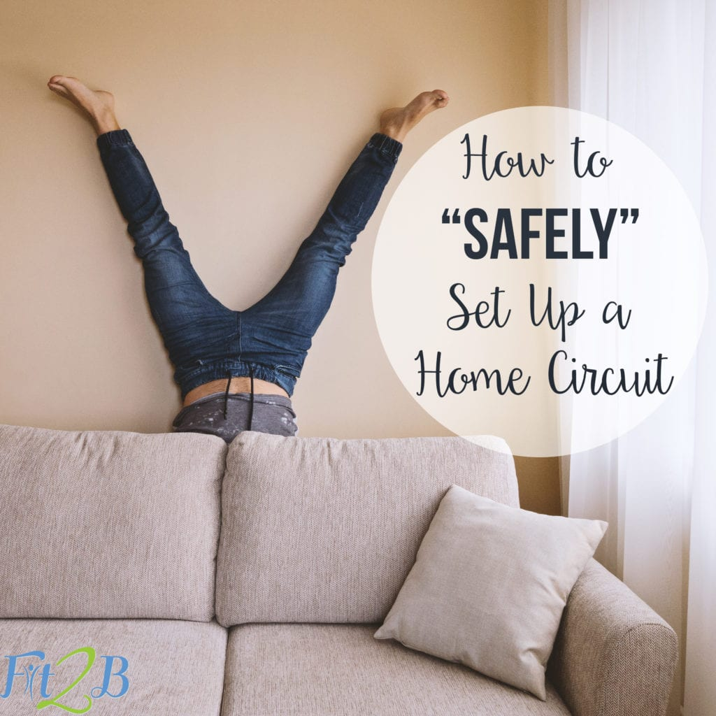 How to safely set up a home circuit workout - fit2b.com
