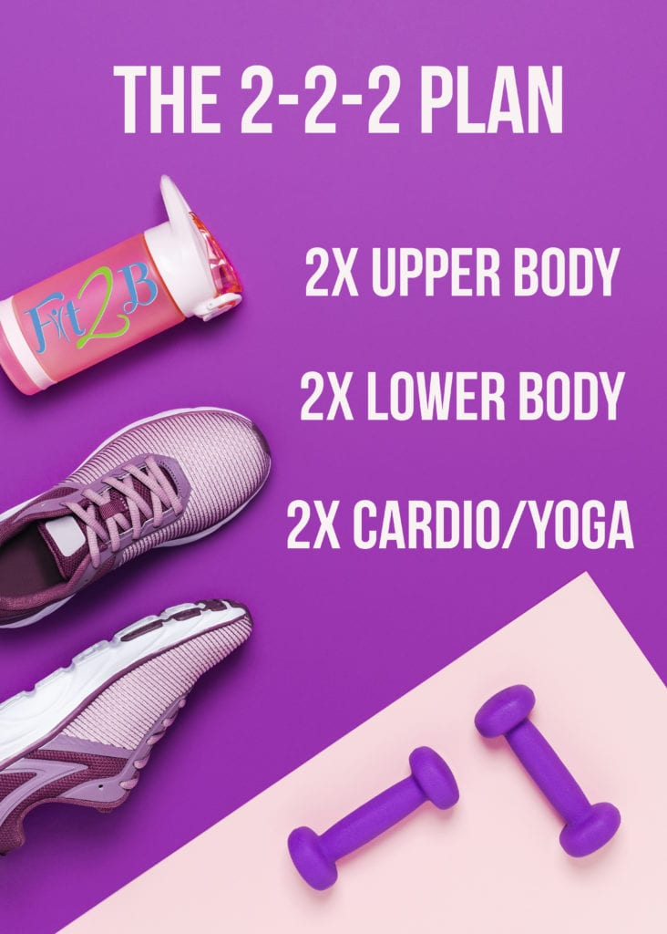 2x weekly workout